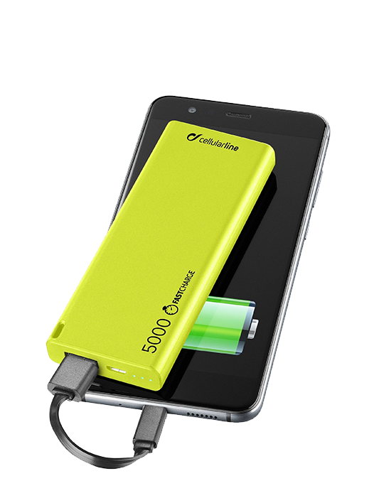 Power Bank Cellularline Slim 5000mAh