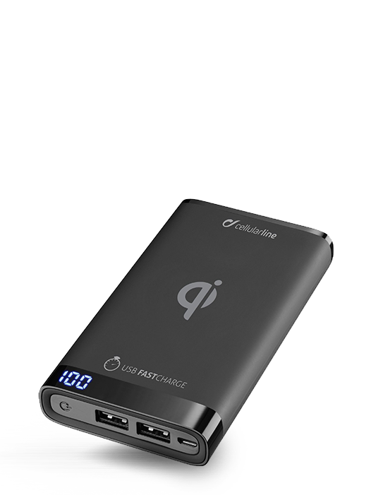 Power Bank Cellularline Wireless 8000mAh