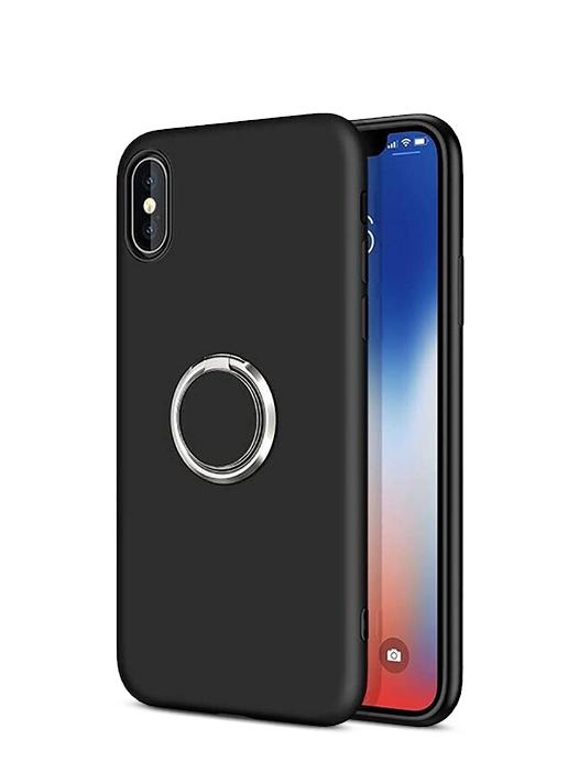 Husă Xiaomi Redmi 7 Liquid Silicon with Ring