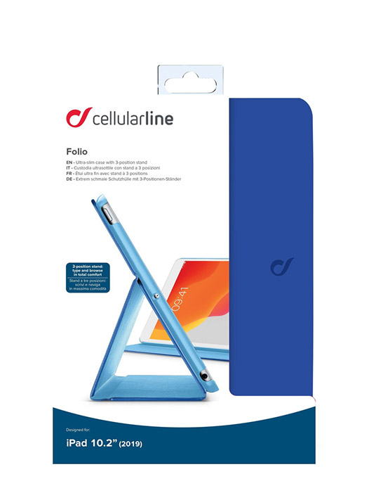 Husă iPad 10.2 2019 Cellularline Flip cover