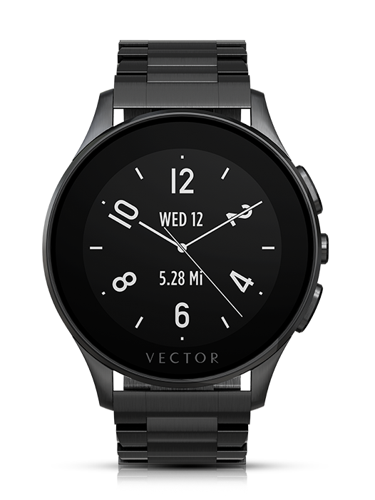 Vector Watch Luna Black Metalic